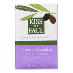 HGR0536011 - Kiss My FaceBar Soap Olive and Lavender - 8 oz