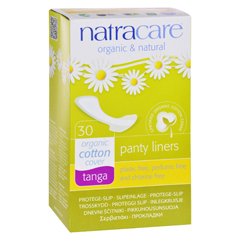 HGR0536078 - NatracareNatural Thong Style Panty Liners - 30 Pack