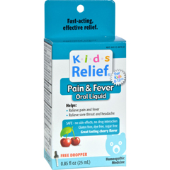 HGR0538900 - Homeolab USAKids Relief Pain and Fever Cherry - 0.85 fl oz