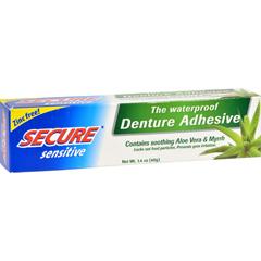 HGR0540229 - SECURESensitive Denture Adhesive - 1.4 oz