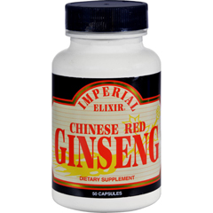HGR0541821 - Imperial ElixirChinese Red Ginseng - 500 mg - 50 Capsules