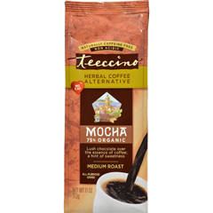HGR0543173 - Teeccino - Mediterranean Herbal Coffee - Mocha - Medium Roast - Caffeine Free - 11 oz