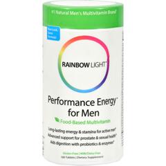 HGR0545889 - Rainbow LightPerformance Energy Multivitamin for Men - 180 Tablets