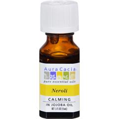 HGR0548255 - Aura Cacia - Neroli in Jojoba Oil - 0.5 fl oz