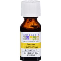 HGR0548271 - Aura CaciaRoman Chamomile Pure Essential Oil - 0.5 fl oz