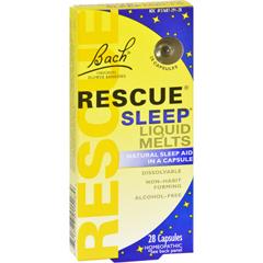 HGR0549253 - BachFlower Remedies Rescue Sleep Liquid Melts - 28 Capsules