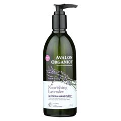 HGR0549436 - AvalonOrganics Glycerin Liquid Hand Soap Lavender - 12 fl oz