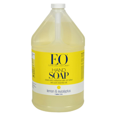 HGR0550152 - EO ProductsLiquid Hand Soap Lemon and Eucalyptus - 1 Gallon