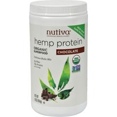 HGR0554337 - Nutiva - Organic Hemp Shake Chocolate - 16 oz