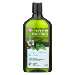HGR0554774 - AvalonOrganics Scalp Treatment Tea Tree Shampoo - 11 fl oz