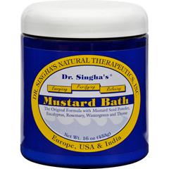 HGR0556258 - Dr. Singha's FormulationsMustard Bath - 16 oz