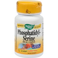 HGR0559625 - Nature's WayPhosphatidylserine - 30 Softgels