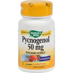 HGR0559641 - Nature's WayPycnogenol - 50 mg - 30 Tablets