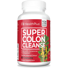 HGR0560342 - Health PlusSuper Colon Cleanse - 60 Capsules