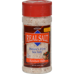 HGR0561068 - Real SaltKosher Sea Salt Shaker - Case of 12 - 8 oz