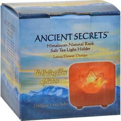 HGR0561324 - Ancient SecretsHimalayan Salt Tea Light Lotus - Pack