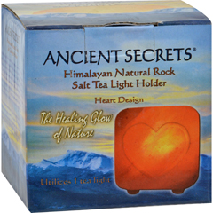 HGR0561340 - Ancient SecretsHimalayan Salt Tea Light Heart - Pack