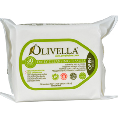 HGR0561845 - OlivellaDaily Facial Cleansing Tissues - 30 Tissues