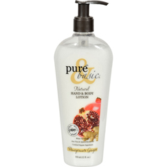 HGR0563304 - Pure and BasicNatural Bath And Body Lotion Pomegranate Ginger - 12 fl oz