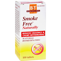 HGR0563767 - Boericke and TafelSmoke Free Naturally - 100 Tablets
