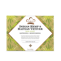 HGR0567008 - Nubian HeritageBar Soap Indian Hemp And Haitian Vetiver - 5 oz
