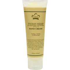 HGR0567115 - Nubian HeritageHand Cream Indian Hemp And Haitian Vetiver - 4 oz