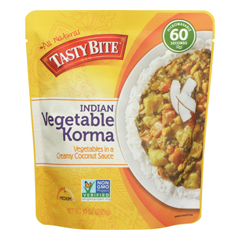 HGR0567552 - Tasty Bite - Entree - Indian Cuisine - Vegetable Korma - 10 oz.. - case of 6