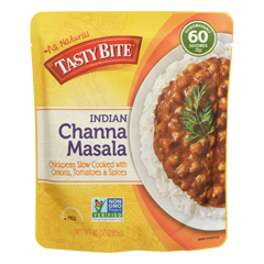 HGR0568311 - Tasty Bite - Entree - Indian Cuisine - Channa Masala - 10 oz.. - case of 6