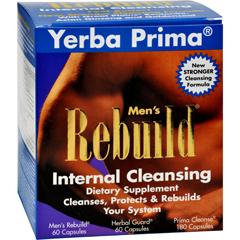 HGR0568485 - Yerba PrimaMens Rebuild Internal Cleansing - 1 Kit