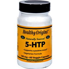 HGR0568642 - Healthy Origins - Natural 5-HTP - 100 mg - 60 Capsules