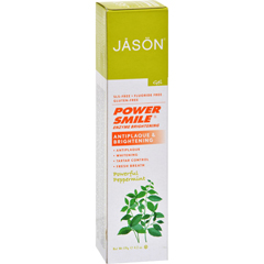 HGR0569004 - Jason Natural ProductsPowerSmile Enzyme Brightening Gel Natural Toothpaste - 4.2 oz