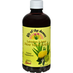 HGR0569210 - Lily of The DesertLily of the Desert Aloe Vera Juice Lemon Lime - 32 fl oz