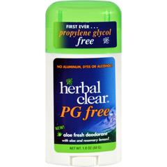 HGR0571455 - Herbal ClearDeodorant Stick - Aloe Fresh - Pg Free - 1.8 oz