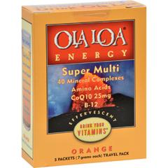 HGR0572594 - Ola Loa ProductsOla Loa Energy Orange - 5 Packets
