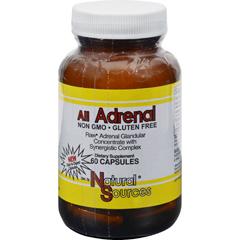HGR0575308 - Natural SourcesAll Adrenal - 60 Capsules