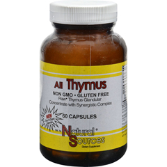 HGR0576108 - Natural SourcesAll Thymus - 60 Capsules