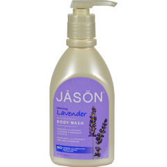 HGR0576165 - Jason Natural Products - Body Wash Pure Natural Calming Lavender - 30 fl oz