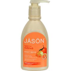 HGR0576181 - Jason Natural ProductsSatin Shower Body Wash Citrus - 30 fl oz