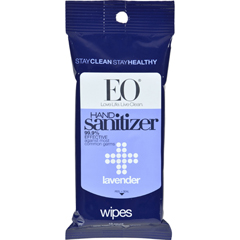 HGR0577320 - EO ProductsHand Sanitizer Wipes Display Center - Lavender - Case of 6 - 10 Pack