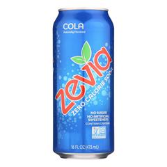 HGR0577577 - Zevia - Soda - Zero Calorie - Cola - Tall Girls Can - 16 oz.. - case of 12