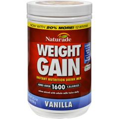 HGR0579904 - Naturade - Weight Gain Vanilla - 16.93 oz