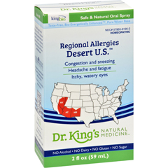 HGR0580134 - King Bio HomeopathicRegional Allergy - Desert - 2 oz