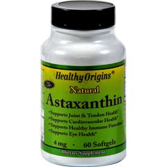 HGR0581199 - Healthy OriginsAstaxanthin - 4 mg - 60 Softgels