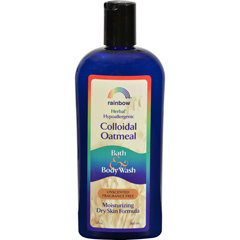 HGR0581819 - Rainbow ResearchColloidal Oatmeal Bath and Body Wash - Fragrance Free - 12 oz