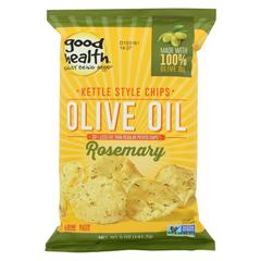 HGR0582601 - Good Health - Kettle Chips - Olive Oil Rosemary - Case of 12 - 5 oz.