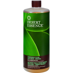 HGR0583369 - Desert EssenceThoroughly Clean Face Wash - Original Oily and Combination Skin - 32 fl oz