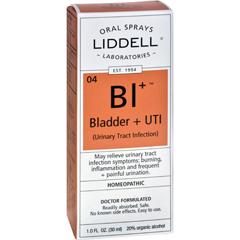 HGR0583583 - Liddell HomeopathicBladder and UTI Spray - 1 fl oz