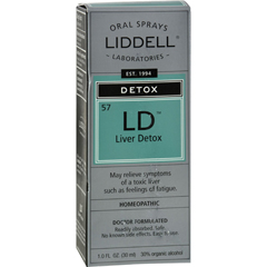 HGR0583864 - Liddell HomeopathicLiver Detox Spray - 1 fl oz
