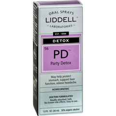 HGR0583880 - Liddell HomeopathicDetox PD Party Detox - 1 fl oz