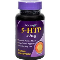 HGR0584284 - Natrol - 5-HTP - 50 mg - 30 Caps